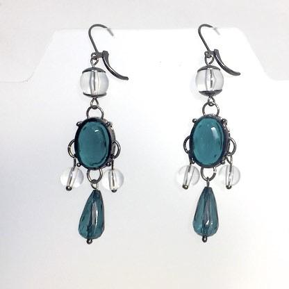 Irene Earrings by Stephanie Heller Durr - © Blue Pomegranate Gallery