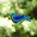Bluebird Ornament, Suncatcher by Heidi Riha - © Blue Pomegranate Gallery