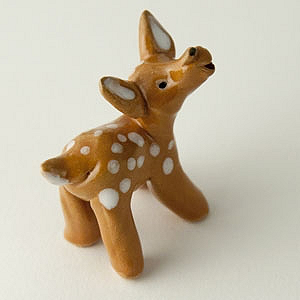 Fawn by Cindy Pacileo - © Blue Pomegranate Gallery