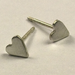 Tiny Heart Earrings by McQueen