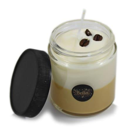 Bean Palace 4 oz. Vanilla Soy Candle in glass jar