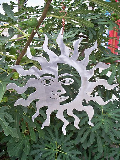 Aluminum Sun by Lisa Regan