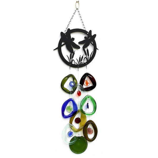 Dragonfly Top Wind Chime by Chalfant - © Blue Pomegranate Gallery
