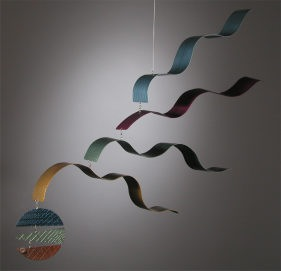 World Wave Hanging Mobile by Shafer
