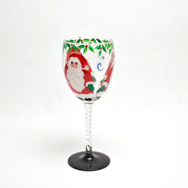 Santa Wine Twist by Anne Flynn - © Blue Pomegranate Gallery