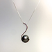 Tahitian Pearl Pendant by Cassie Leaders - © Blue Pomegranate Gallery
