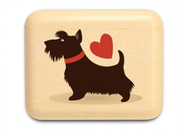 "Scottie Love Box 1 x 1 1/2 x 2"" by Michael Fisher"