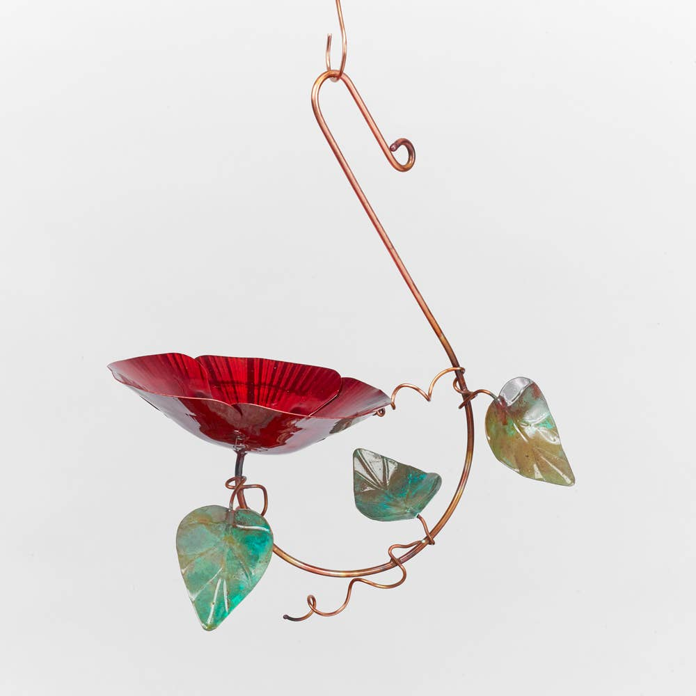 Flower Bird Feeder by Catherine Murphy - © Blue Pomegranate Gallery