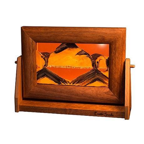 Alder Wood Sand Panel, SM, Sunset Orange - © Blue Pomegranate Gallery