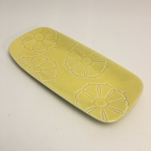 Yellow Flower Tray by McConnell - © Blue Pomegranate Gallery