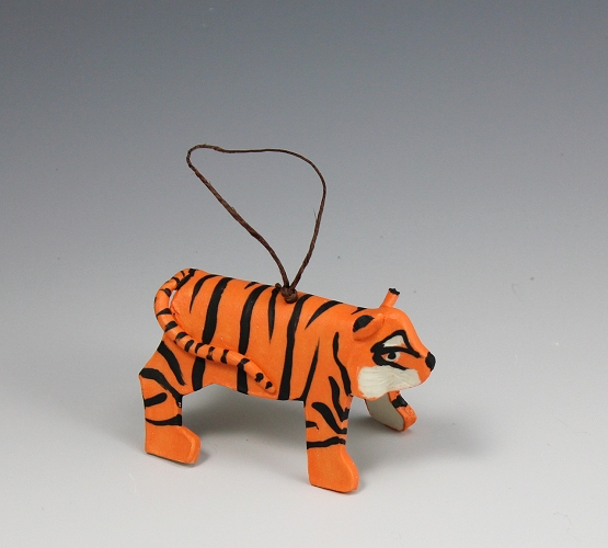 Tiger Ornament by Beth DiCara - © Blue Pomegranate Gallery