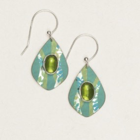 Verdant Green Salma Earrings by Holly Yashi - © Blue Pomegranate Gallery