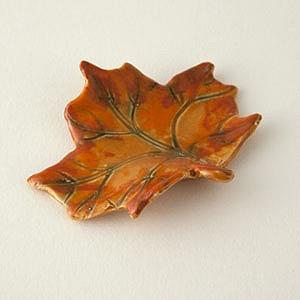 Orange Maple Leaf by Cindy Pacileo