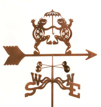 Dancing Frogs Weathervane by Debra - © Blue Pomegranate Gallery