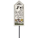 """Leave Room"" Garden Stake by Michael Macone - © Blue Pomegranate Gallery"