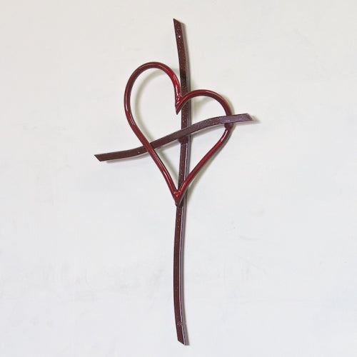 Promise Cross- Red-  by Patrick Neuwirth - © Blue Pomegranate Gallery