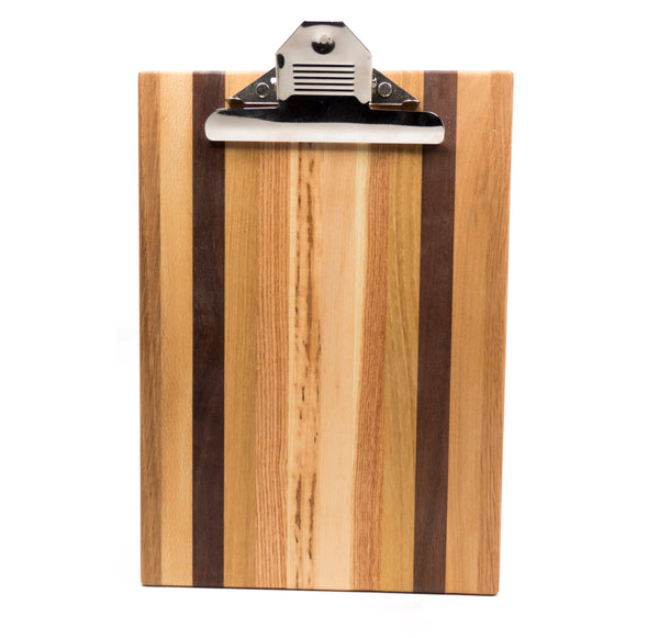 Wood Letter Sized Clipboard by Dickinson - © Blue Pomegranate Gallery