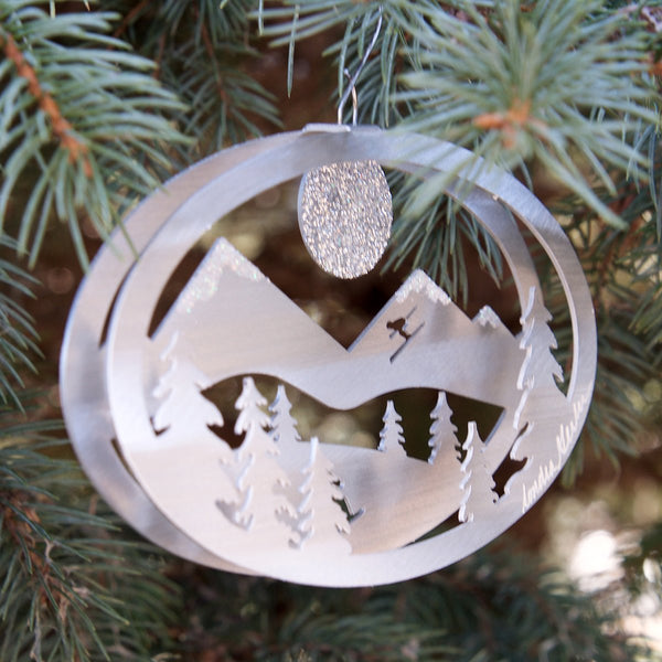 Winter Fun ornament by Sondra Gerber - © Blue Pomegranate Gallery