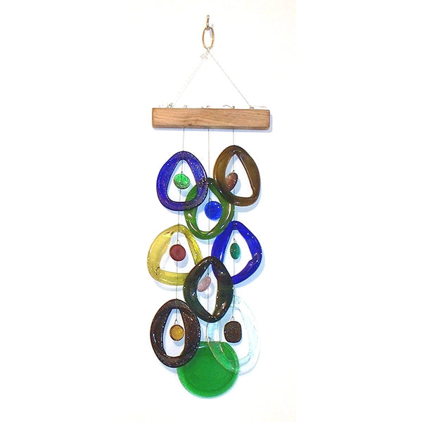 Southern Nights Wind Chime by Chalfant - © Blue Pomegranate Gallery