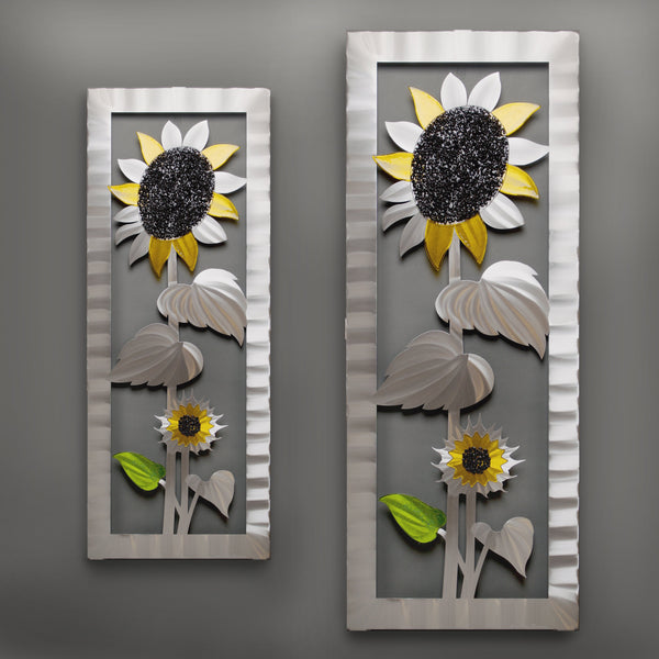 Sunflower with Glass by Sondra Gerber - © Blue Pomegranate Gallery