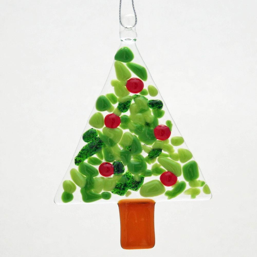 Tree w/ berries Ornament by Kristi Thorndike Kent - © Blue Pomegranate Gallery