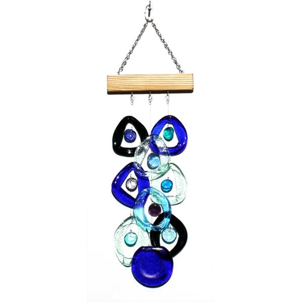 Waterfall Wind Chime by Chalfant - © Blue Pomegranate Gallery
