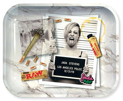 Jada420 x RAW limited edition rolling tray