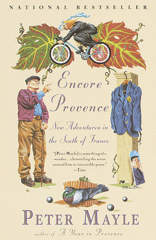 Peter Mayle book Encore Provence