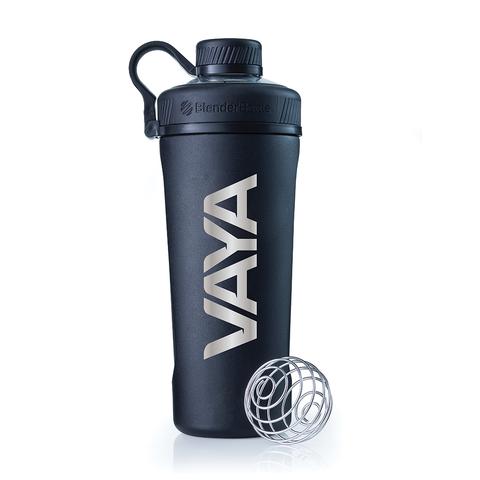 VAYA® - Black 26oz Radian™ Stainless Steel Insulated - Blender Bottle®