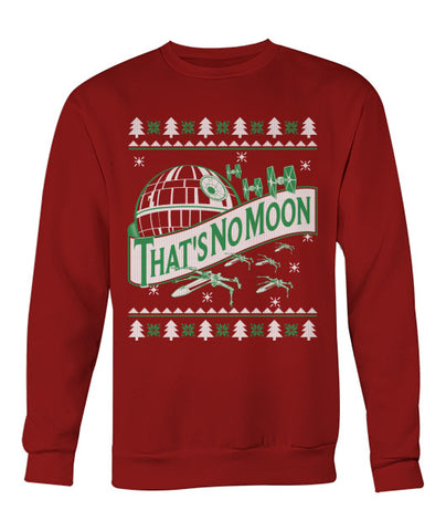That's No Moon Christmas Sweater