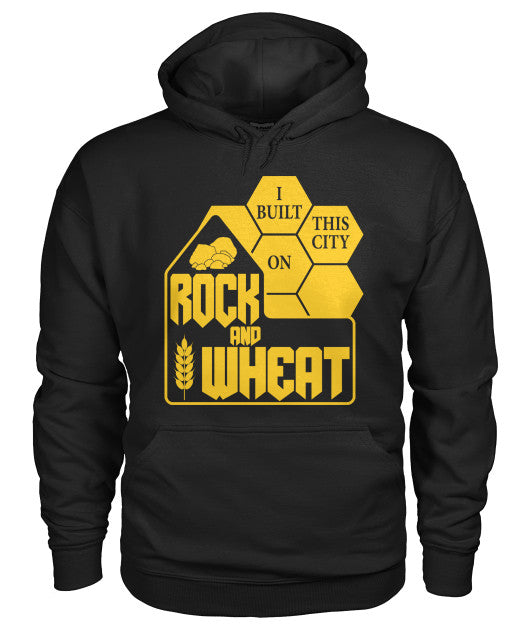 Rock And Wheat Hoodie