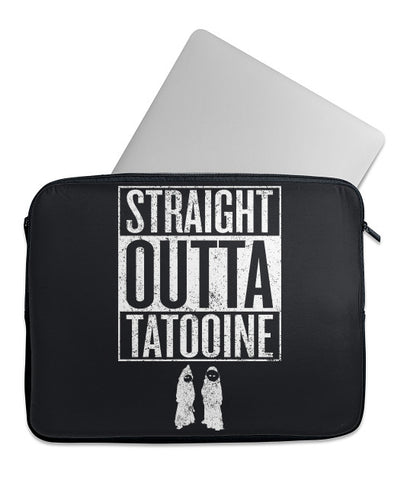Straight Outta Tatooine Laptop Case