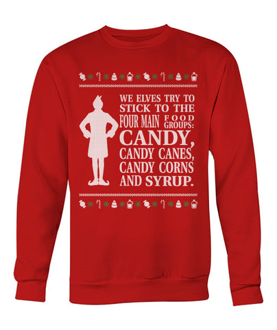 We Elves Try Christmas Sweater