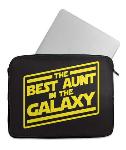 Best Aunt in Galaxy Laptop Case