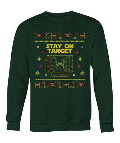 Stay on Target Christmas Sweater