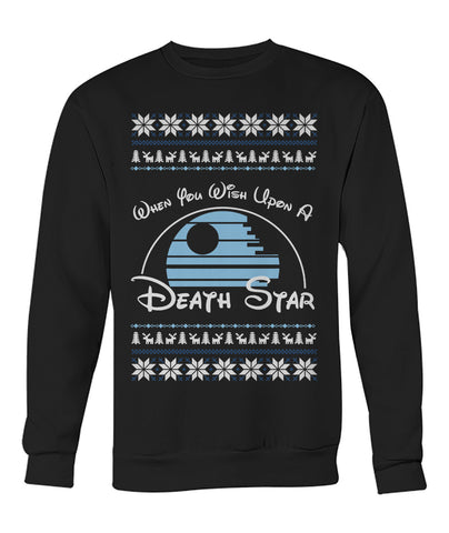 Wish Upon a Death Star Christmas Sweater
