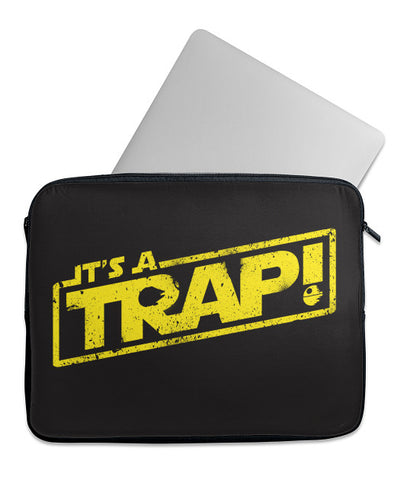 It's A Trap Laptop Case