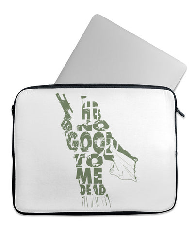 He's No Good To Me Dead Laptop Case