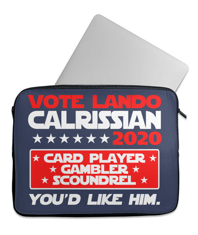 Vote Lando 2020 Laptop Case