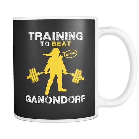 Training to Beat Ganondorf Mug