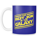 The Best Son In The Galaxy Mug