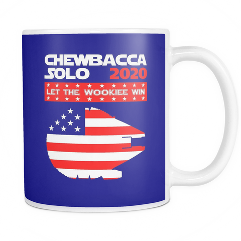 Let The Wookiee Win 2020 Mug