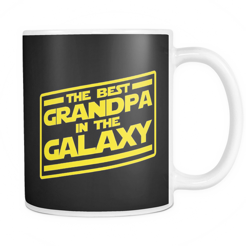 The Best Grandpa In The Galaxy Mug