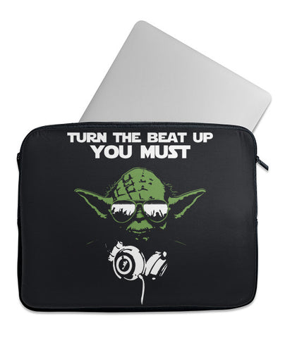 Turn Up the Beat Laptop Case