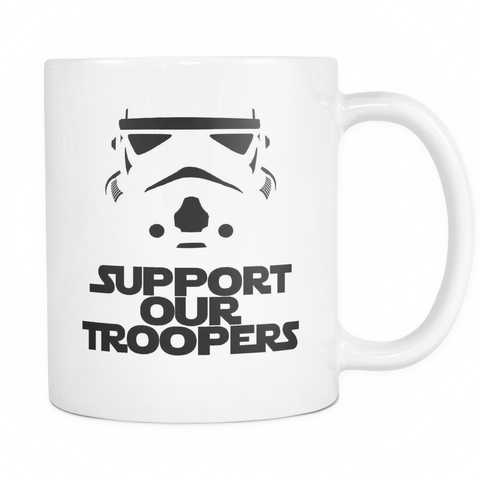 Support Our Troopers Mug