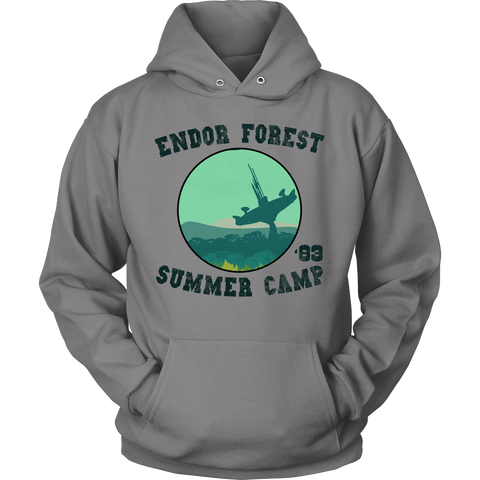 Endor Forest Summer Camp Hoodie and Long Sleeve
