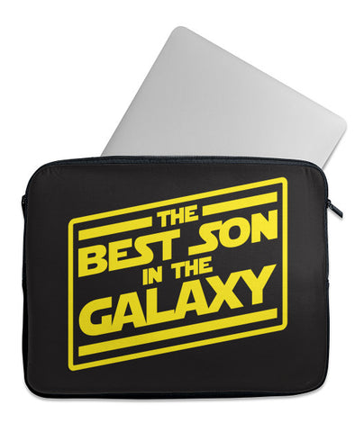Best Son in Galaxy Laptop Case