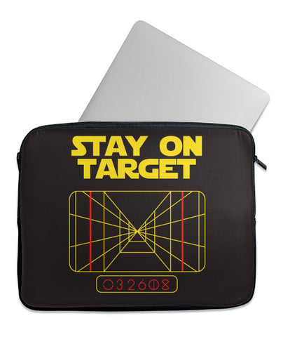 Stay on Target Laptop Case