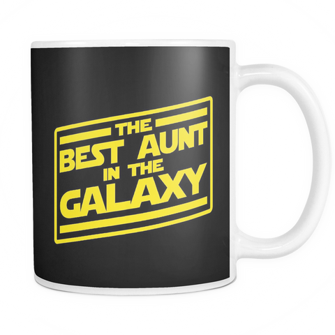 The Best Aunt In The Galaxy Mug