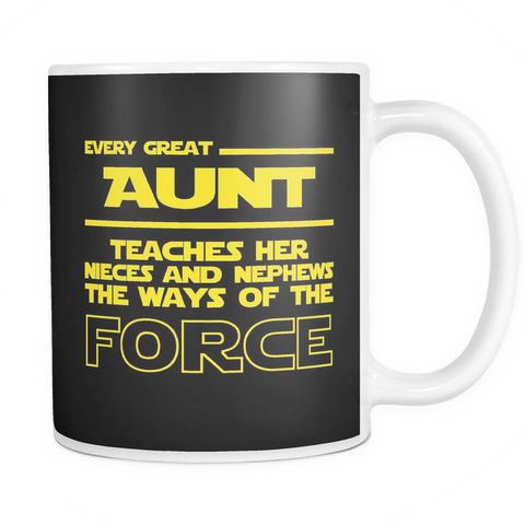 Great Aunt Teaches Force Mug